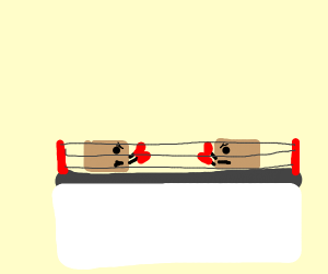 boxing (literally)
