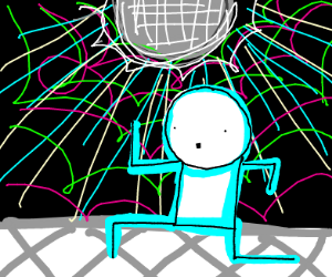 doing the robot at a disco