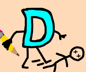 drawception kills someone by kicking them