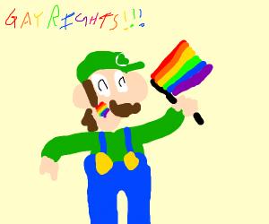 gay rights luigi