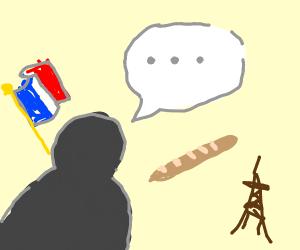 Une phrase en francais