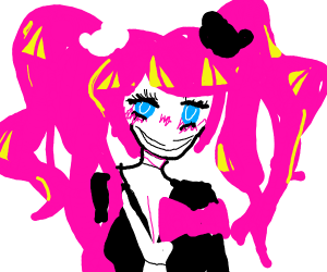 mspaint anime chick