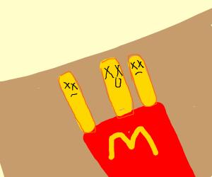 Dead Piece of fries