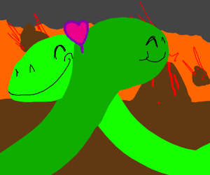 gay dinosaurs in love