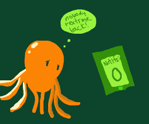 No one texts the octopus back
