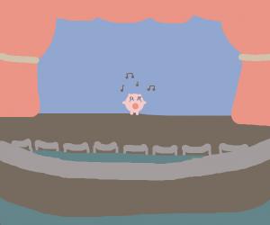 Jigglypuff preparing for concert