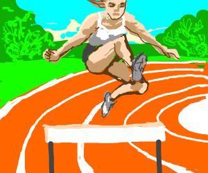 Hurdle Jumping