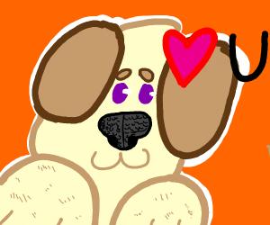 Doggo in love