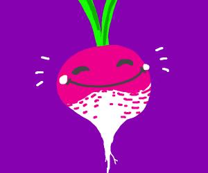happy turnip