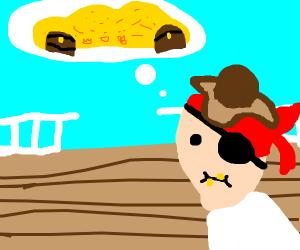 pirate dreams of treasure