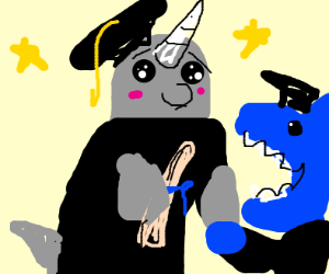 Graduating narwhal