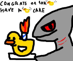 congrats op on 10,000 ducks!