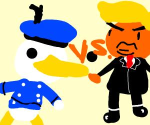 Donald duck vs. Donald Trump