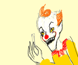 Pennywise offers up some Tooty Fruity