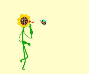 Somebody loves bees
