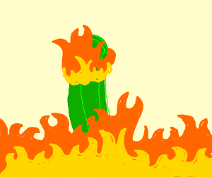 Flaming Pickle