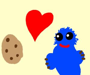 Cookie Monster Loves Cooke