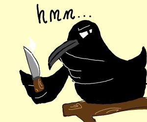 Bird considers murdering someone