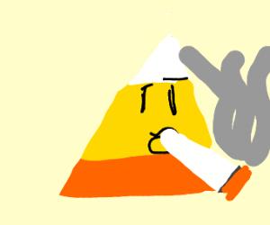 Candy Corn Smoking