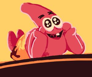Happy starfish