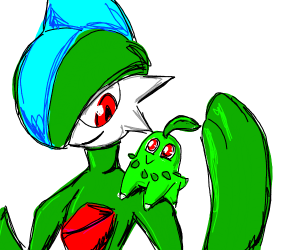 Chikorita and Gallade