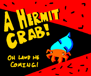 Borderlands boss intro for a Hermit Crab.