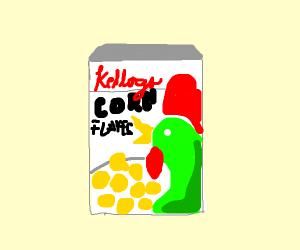 chicken flavor cornflakes