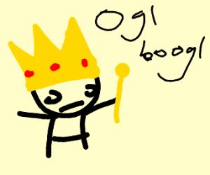 retarded king