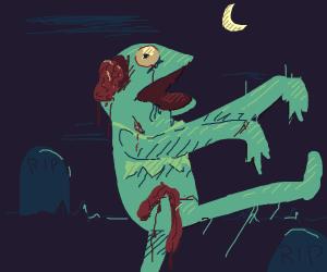 Zombie Kermit