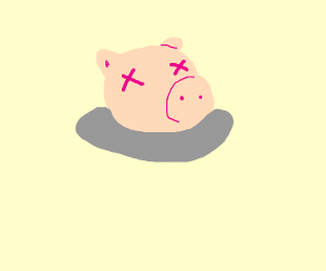1960's Pig