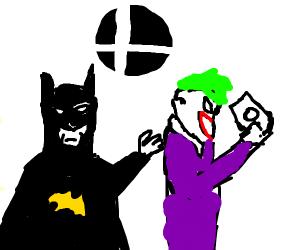 Batman wants his Joker in Smash