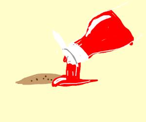 Ketchup'd Cookie