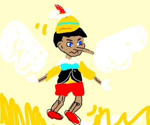 Pinocchio is a god?