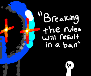 Drawception reinforcing rules