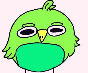 smol green birb