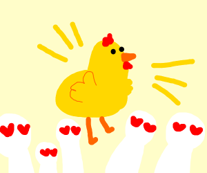 BLESS THE CHICKEN LORD