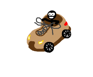 Car that is a Shoe