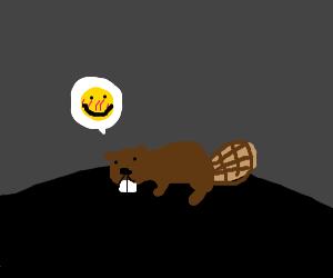 Happy bever