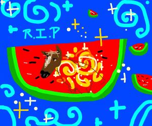 watermelon sacrifice for golden horse armor