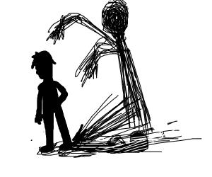 Shadows and dark creatures