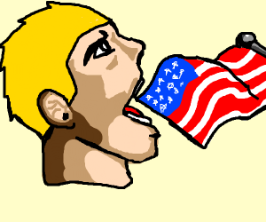 Eating the American Flag