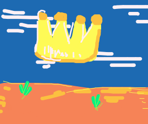 Crown in the sky
