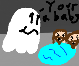 ghost calls two headed jesus a baby
