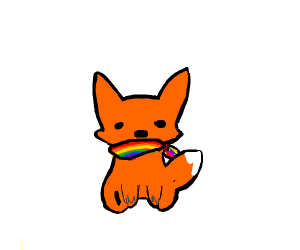 Pride fox