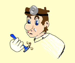shaved Dr. Mario