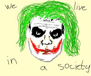 Joker From The Future Drawception