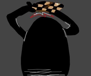shadow attacks a checkerboard