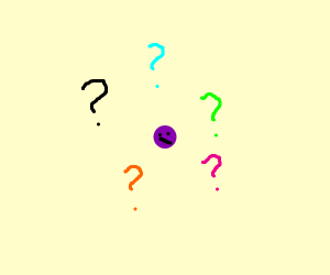 A confused dot