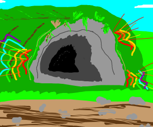 Colourful Colourless Cave