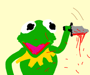 Kermit the murder frog
